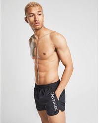 f749f26d0a8a7 Calvin Klein Swimwear - Men's Swimming Trunks & Boardshorts - Lyst