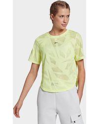 Reebok Perforated T-shirt - Green