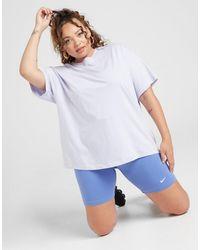 Nike Plus Size Core Cycle Shorts - Blue