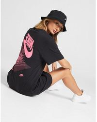 Nike Graphic T-shirt Dress - Black