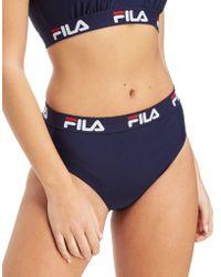 Fila - Tape Bikini Top - Lyst