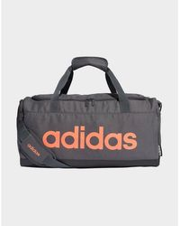 adidas Originals Linear Logo Duffel Bag - Black