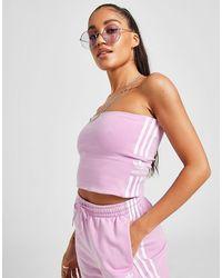 adidas Originals Lock Up Bandeau Top Donna - Multicolore