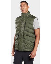 Reebok Outerwear Puffa Vest - Green