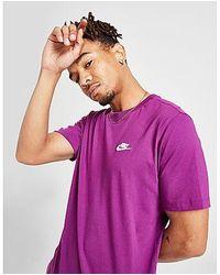 Nike Core T-Shirt Herren - Lila