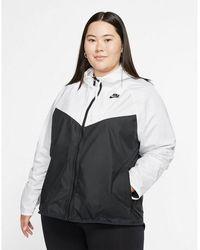 Nike Sportswear Windrunner Jacket (plus Size) - Black