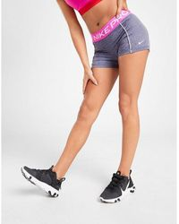 "Nike Training Spacedye 3"" Shorts - Blue"