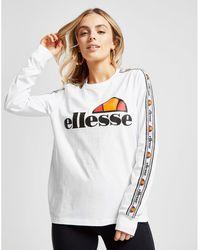 Ellesse Tape Long Sleeve Boyfriend T-shirt