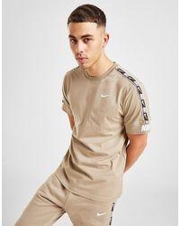 Nike Sportswear Repeat T-shirt - Natural