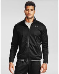Under Armour Recover Knit Track Jacket - Black