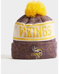 KTZ Nfl Minnesota Vikings Pom Beanie Hat - Purple