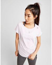 Reebok - Mesh Back T-shirt - Lyst