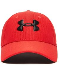 Under Armour Blitzing Cap - Red
