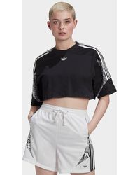 adidas Originals Crop Top - Black