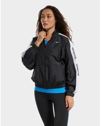 Reebok Training Essentials Woven Linear Logo Jacket - Black