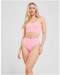 Fila - Braguita de bikini Crinkle High Waist - Lyst