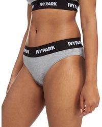 Ivy Park - Tape Logo Briefs - Lyst
