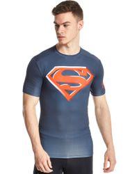 Under Armour - Superman 2.0 Compression Shirt - Lyst