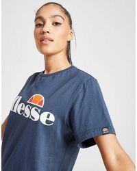 Ellesse Core Logo Boyfriend T-shirt - Blue