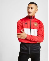 83db172aeb18f Manchester United Fc 3-stripes Track Top - Red
