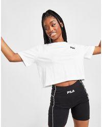 Fila Core Logo Crop T-shirt - White