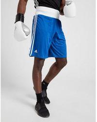adidas Base Punch Boxing Shorts - Blue