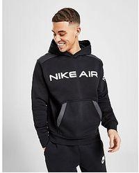 Nike Air Pullover Fleece Hoodie Herren - Schwarz