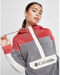 Columbia Color Block Polar Fleece Hoodie - Multicolor