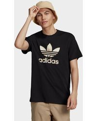 adidas Originals Camo Trefoil T-shirt - Black