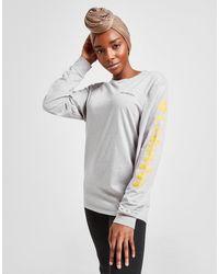 Columbia Long Sleeve Logo T-shirt - Gray