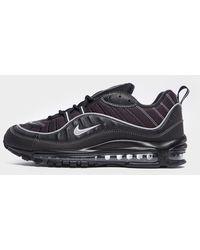 Nike Air Max 98 Running Shoes - Black