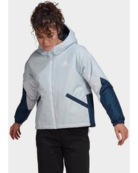 adidas Back To Sport Insulated Jacket - Blue