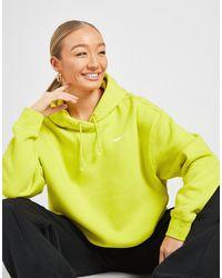 Nike Fleece Overhead Hoodie - Yellow