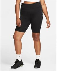 Nike Air Shorts (plus Size) - Black