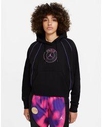 Nike - Paris Saint-germain Pullover Hoodie - Lyst