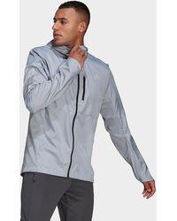 adidas - Own The Run Hooded Windbreaker - Lyst