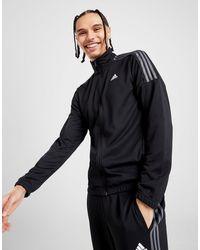 adidas 3-stripes Poly Track Top - Black