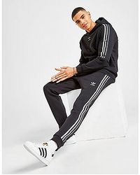 adidas Originals Tri-Tone 3-Stripes Fleece Joggers - Negro