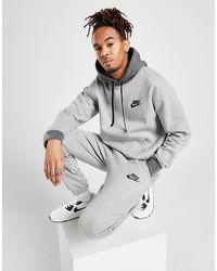 Nike Fleece Overhead Tracksuit - Grey