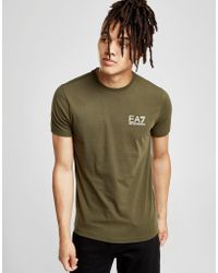 EA7 - Core T-shirt - Lyst