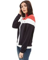 Fred Perry - Colourblock Track Top - Lyst