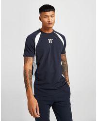 11 Degrees Cut T-shirt - Blue