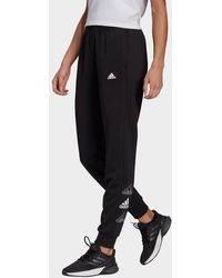 adidas - Essentials Stacked Logo Joggers - Lyst