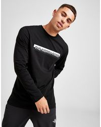 The North Face Central Split Long Sleeve T-shirt - Black