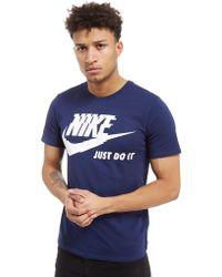 Nike - Futura Just Do It T-shirt - Lyst