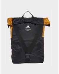 adidas Originals Classic Flap Top Shopper Backpack - Black