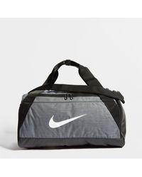 Nike Small Brasilia Bag - Gray