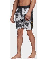 adidas Juventus Turin Swim Shorts - Black