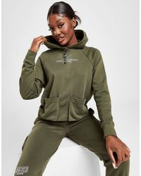 Nike Swoosh Utility Hoodie - Green