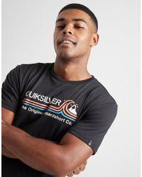 Quiksilver Stripe Wave T-shirt - Multicolour
